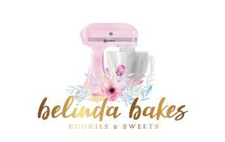 watercolour kitchen aid, mixer, clip art, kitchen mixer logo, watercolour logos, logo design, cake