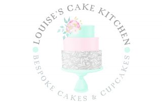 watercolour logos, cake logo, bakery, mint, grey, cake, wedding cake, cake stand
