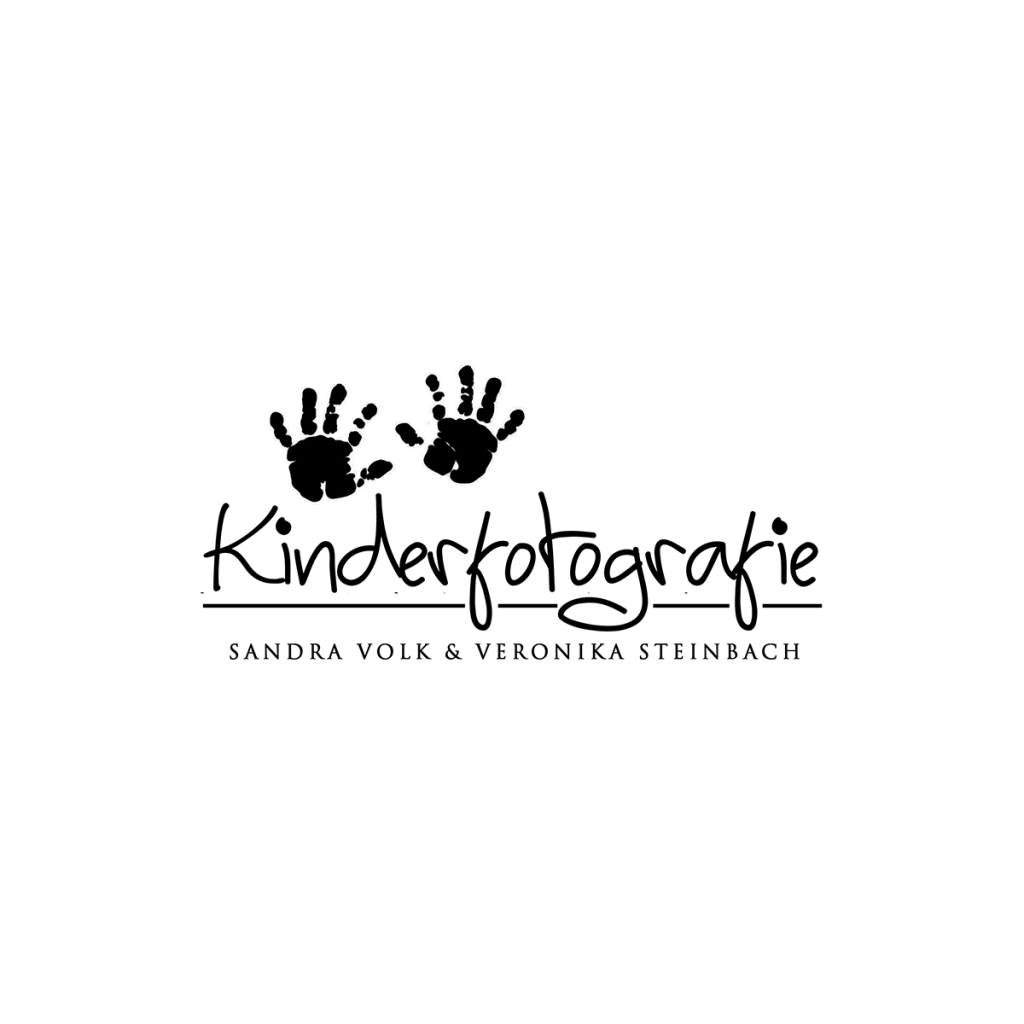 photography logo design, branding, childrens photography, watercolour hands, baby hands logo, childrens hands silhoutte